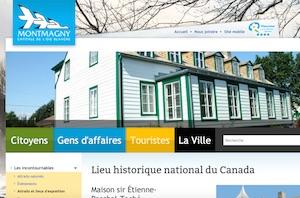 Maison Sir Étienne-Paschal-Taché - Chaudière-Appalaches, Ville Montmagny (Montmagny)