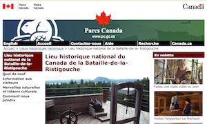 Bataille-de-la-Ristigouche - Gaspésie, Pointe-à-la-Croix
