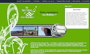 Le site Mary Travers dite - Gaspésie, Chandler (Newport )