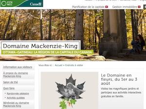 Domaine Mackenzie-King - Outaouais, Gatineau