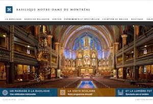 Basilique Notre-Dame de Montréal - Montréal, Ville de Montréal (Ville-Marie)