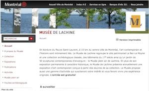 Le Musée de Lachine - Montréal, Montréal (Lachine)