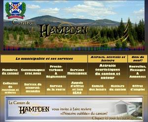 Municipalité Canton de Hampden - Estrie / Canton de l'est, Canton de Hampden