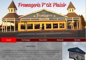 Fromagerie P'Tit Plaisir - Estrie / Canton de l'est, Weedon (Saint-Gérard)