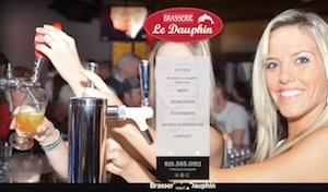Brasserie le Dauphin - Estrie / Canton de l'est, Sherbrooke (Fleurimont)