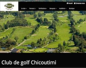 Club de Golf de Chicoutimi - Saguenay-Lac-Saint-Jean, Saguenay (Saguenay) (Chicoutimi)