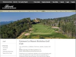 Club de Golf Le Manoir - Laurentides, Lachute