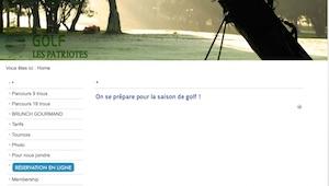 Club de Golf les Patriotes - Montérégie, Saint-Ours-sur-Richelieu
