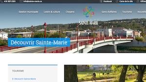 Ville de Sainte-Marie - Chaudière-Appalaches, Sainte-Marie (Beauce)