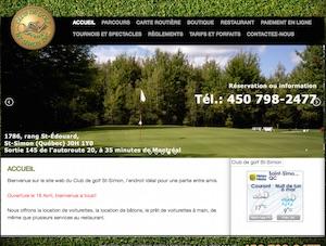Club de Golf Saint-Simon - Montérégie, Saint-Simon-de-Bagot