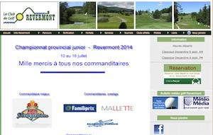 Club de Golf Révermont - Gaspésie, Amqui