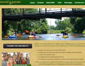 Kayak Safari - Montérégie, Huntingdon