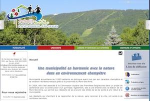 Municipalité de Saint-Ferréol-les-Neiges - Capitale-Nationale, Saint-Féréol-des-Neiges