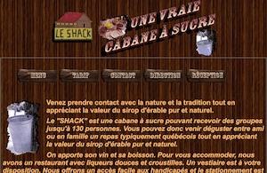 Cabane à Sucre le Shack (Érablière) - Montérégie, Saint-Urbain-Premier