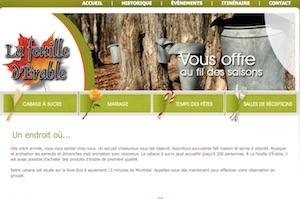 Cabane à Sucre la Feuille d'Érable (Érablière) - Montérégie, Saint-Marc-sur-Richelieu