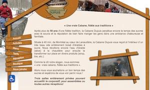 Cabane à Sucre Guy Dupuis (Érablière) - Lanaudière, Saint-Jacques-de-Montcalm