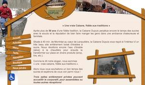 Cabane à Sucre Dupuis (Érablière) - Lanaudière, Saint-Jacques-de-Montcalm