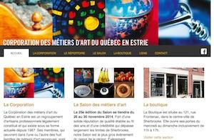 Corporation des métiers d'Art du Québec - Estrie / Canton de l'est, Sherbrooke