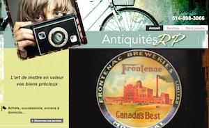 Antiquités R P - Montréal, Ville de Montréal