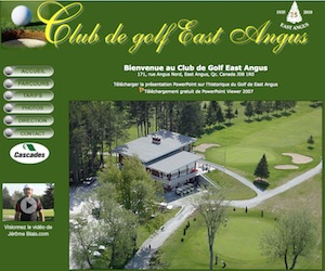 Club de Golf East Angus - Estrie / Canton de l'est, East Angus