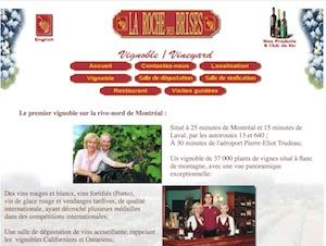 Vignoble La Roche des Brises - Laurentides, Saint-Joseph-du-Lac