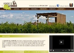 Le Vignoble La Bauge - Estrie / Canton de l'est, Brigham