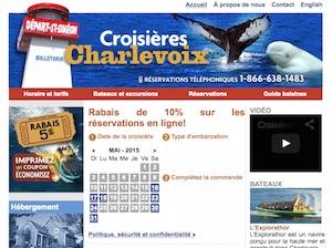Croisières Charlevoix - Charlevoix, Saint-Siméon