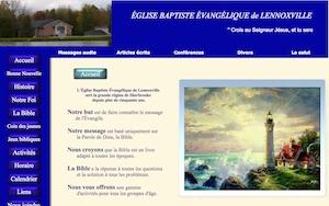Église Baptiste Évangélique de Lennoxville - Estrie / Canton de l'est, Sherbrooke (Lennoxville)