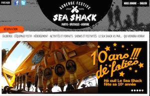 Auberge Festive Sea Shack - Gaspésie, Sainte-Anne-des-Monts
