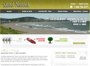 Motel restaurant Nanook - Gaspésie, Cap-Chat