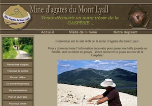 Mine d'Agates du Mont Lyall - Gaspésie, Cap-Chat