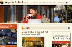 Motel Aux Portes du Soleil - Charlevoix, Baie-Saint-Paul