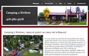 Camping 2 Rivières - Chaudière-Appalaches, Saint-Gédéon-de-Beauce