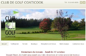 Club de Golf de Coaticook - Estrie / Canton de l'est, Coaticook