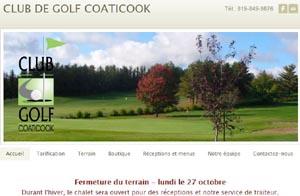 Club de Golf de Coaticook - Estrie / Canton de l'est, Ville Coaticook