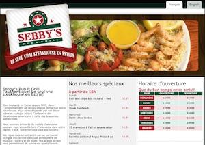 Sebby's Pub & Grill - Estrie / Canton de l'est, Sherbrooke (Lennoxville)