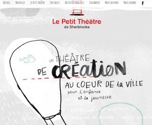 Le Petit théâtre de Sherbrooke - Estrie / Canton de l'est, Sherbrooke