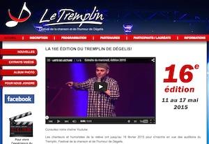 Festival Le Tremplin - Bas-Saint-Laurent, Dégelis