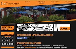 Bar La Cachette des Sportifs - Estrie / Canton de l'est, Sherbrooke (Rock Forest–Saint-Élie–Deauville)