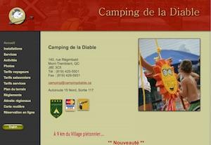 Camping de la Diable - Laurentides, Mont-Tremblant