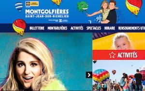 l'International de montgolfières de Saint-Jean-sur-Richelieu - Montérégie, Saint-Jean-sur-Richelieu