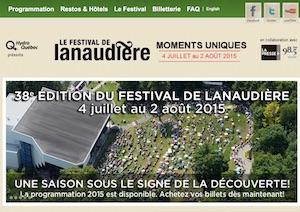 Festival de Lanaudière - Lanaudière, Joliette