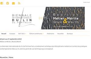 Biennale internationale du lin de Portneuf - Capitale-Nationale, Saint-Léonard-de-Portneuf