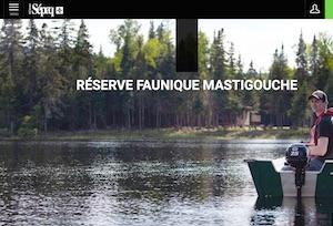 Réserve faunique Mastigouche (Sépaq) - Mauricie, Saint-Alexis-des-Monts