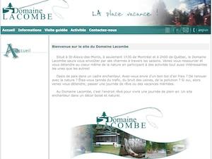 Camping du Lac Lacombe - Mauricie, Saint-Alexis-des-Monts
