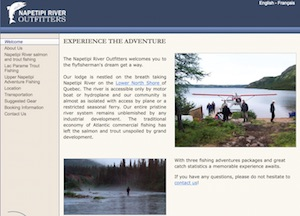 Napetipi River Outfitters (LFR Bilodeau) - Côte-Nord / Duplessis, Fort Bay