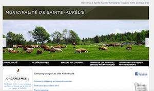 Camping Sainte-Aurelie - Chaudière-Appalaches, Sainte-Aurélie (Beauce)