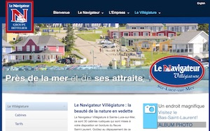 Navigateur Villégiature - Bas-Saint-Laurent, Sainte-Luce-sur-Mer