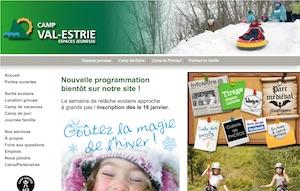 Camp Val-Estrie - Estrie / Canton de l'est, Ville Waterville
