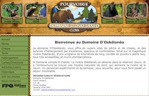 Domaine d'Oskélanéo - Mauricie, La Tuque (Clova)